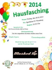 Hausfasching2014